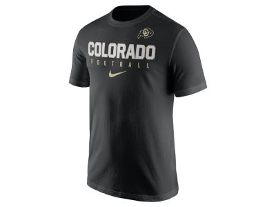 Colorado Buffaloes Nike NCAA Mens Cotton Practice T-Shirt