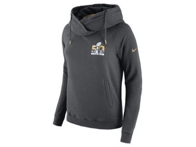 Super Bowl 50 Nike NFL Women's SB50 Rally Funnel Hoodie