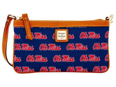 Ole Miss Rebels Dooney & Bourke Large Wristlet