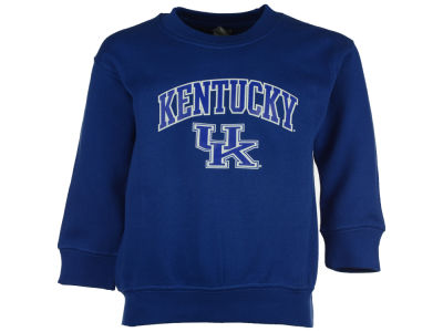 Kentucky Wildcats NCAA Youth Wordmark Arch Logo Crew Fleece Sweatshirt