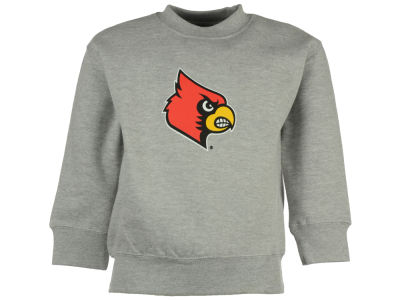 Louisville Cardinals NCAA Youth Big Logo Crew Fleece Sweatshirt