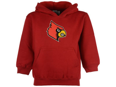 Louisville Cardinals NCAA Toddler Big Logo Pullover Hoodie Sweatshirt