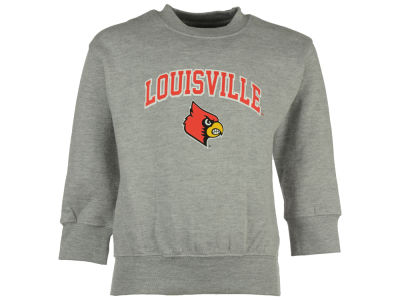 Louisville Cardinals NCAA Toddler Wordmark Arch Logo Fleece Sweatshirt