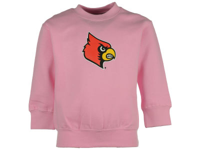 Louisville Cardinals NCAA Toddler Big Logo Crew Fleece Sweatshirt