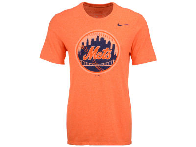New York Mets Nike MLB Men's Marled 1.6 T-Shirt