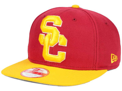 USC Trojans New Era NCAA Logo Grand Redux 9FIFTY Snapback Cap