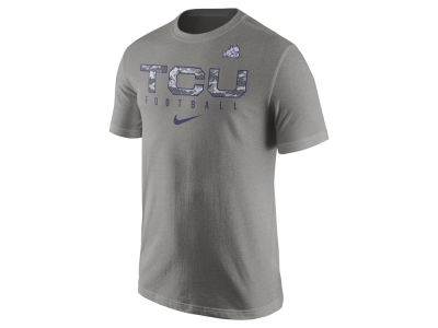 Texas Christian Horned Frogs Nike NCAA Mens Cotton Practice T-Shirt