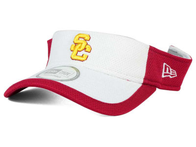 USC Trojans New Era NCAA Training Performance Visor