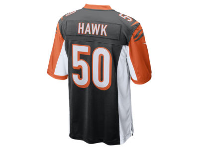 Cincinnati Bengals A.J. Hawk Nike NFL Men's Game Jersey