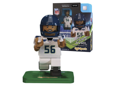 Seattle Seahawks Cliff Avril OYO Figure Generation 3