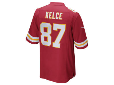 Kansas City Chiefs Travis Kelce Nike NFL Men's Game Jersey