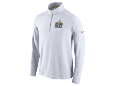 Super Bowl 50 Nike NFL Men's SB50 Gen Half Zip Jacket