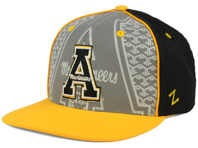 Appalachian State Mountaineers Zephyr NCAA Reflector Snapback Cap