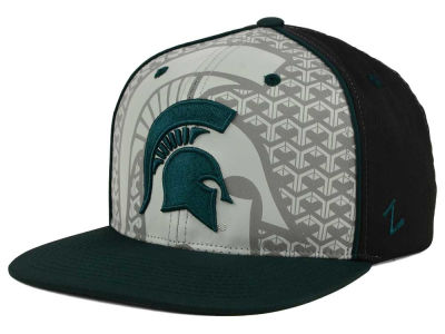 Michigan State Spartans Zephyr NCAA Reflector Snapback Cap