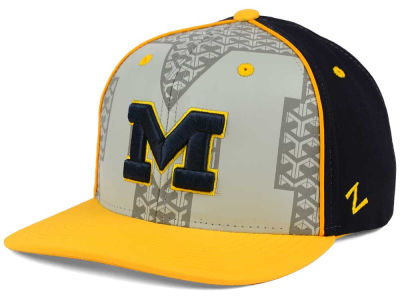 Michigan Wolverines Zephyr NCAA Reflector Snapback Cap