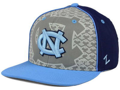North Carolina Tar Heels Zephyr NCAA Reflector Snapback Cap