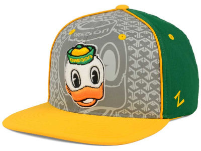 Oregon Ducks Zephyr NCAA Reflector Snapback Cap