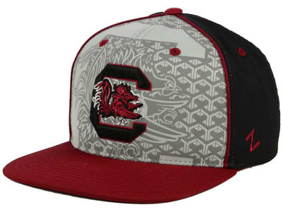 South Carolina Gamecocks Zephyr NCAA Reflector Snapback Cap