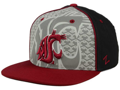 Washington State Cougars Zephyr NCAA Reflector Snapback Cap