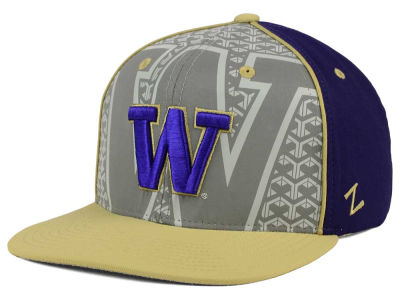Washington Huskies Zephyr NCAA Reflector Snapback Cap