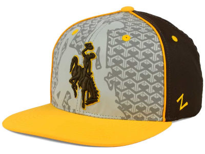Wyoming Cowboys Zephyr NCAA Reflector Snapback Cap