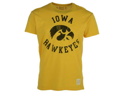 Iowa Hawkeyes Retro Brand NCAA Vintage Cotton T-Shirt