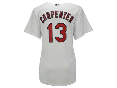 St. Louis Cardinals Matt Carpenter Majestic MLB Women's Cool Base Player Replica Jersey