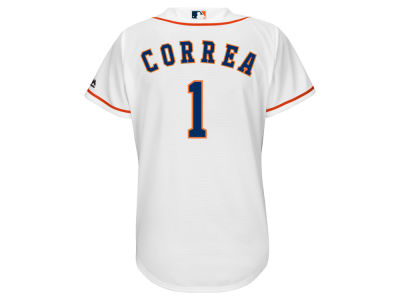 Houston Astros Carlos Correa Majestic MLB Women's Cool Base Player Replica Jersey