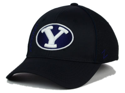 Brigham Young Cougars Zephyr NCAA Punisher Stretch Hat