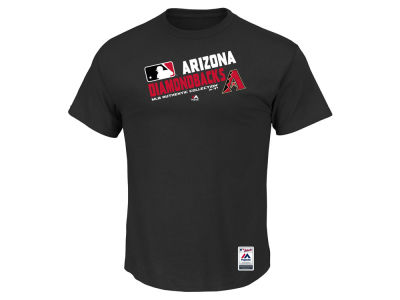 Arizona Diamondbacks Majestic MLB Men's AC Team Choice T-Shirt