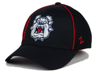 Fresno State Bulldogs Zephyr NCAA Punisher Stretch Hat
