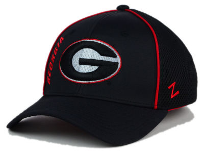 Georgia Bulldogs Zephyr NCAA Punisher Stretch Hat