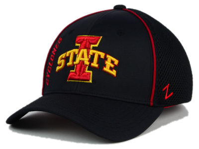 Iowa State Cyclones Zephyr NCAA Punisher Stretch Hat