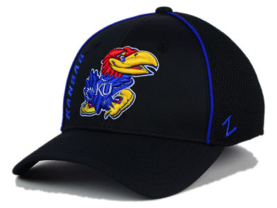 Kansas Jayhawks Zephyr NCAA Punisher Stretch Hat