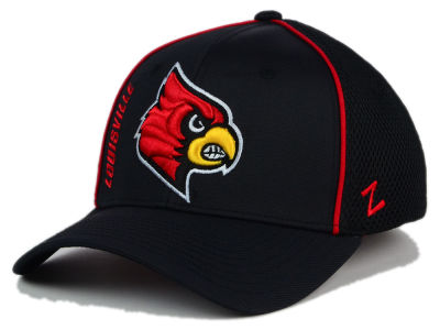 Louisville Cardinals Zephyr NCAA Punisher Stretch Hat