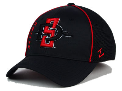 San Diego State Aztecs Zephyr NCAA Punisher Stretch Hat