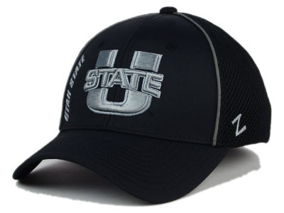 Utah State Aggies Zephyr NCAA Punisher Stretch Hat