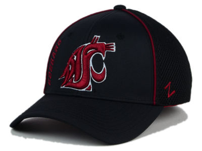 Washington State Cougars Zephyr NCAA Punisher Stretch Hat