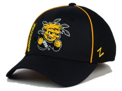 Wichita State Shockers Zephyr NCAA Punisher Stretch Hat