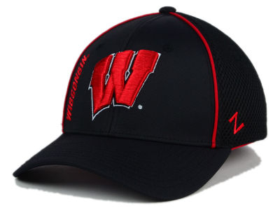 Wisconsin Badgers Zephyr NCAA Punisher Stretch Hat