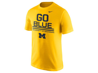 Michigan Wolverines Nike NCAA Men's Cotton Local Verbiage T-Shirt
