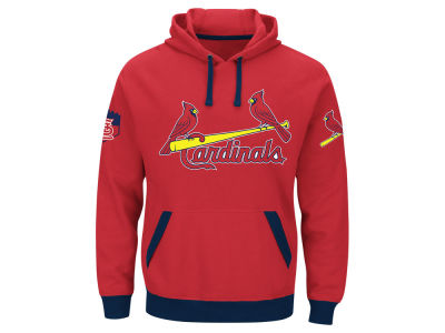 St. Louis Cardinals Majestic MLB Men's Third Wind Hoodie