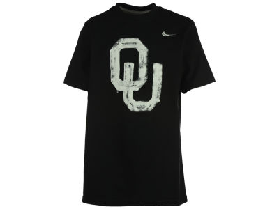 Oklahoma Sooners Nike NCAA Youth Painted Logo T-Shirt