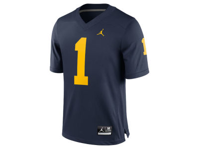 Michigan Wolverines #1 Nike NCAA Replica Football Game Jersey