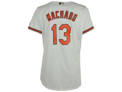 Baltimore Orioles Manny Machado  Majestic MLB Women's Cool Base Player Replica Jersey