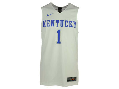 Kentucky Wildcats #1 Nike NCAA Replica Basketball Jersey