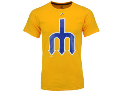 Seattle Mariners MLB Men's Cooperstown Legacy Logo T-Shirt