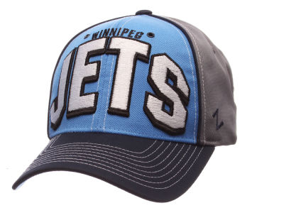 Winnipeg Jets Zephyr NHL Colossus Adjustable Cap