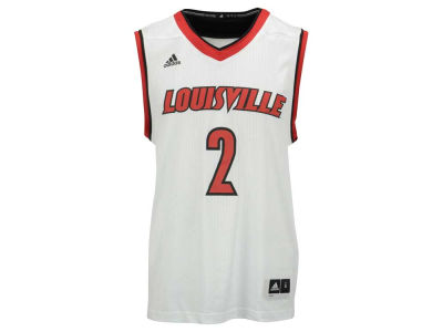 Louisville Cardinals #2 adidas NCAA Basketball Replica Jersey