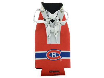Montreal Canadiens Hockey Lace Bottle Cooler